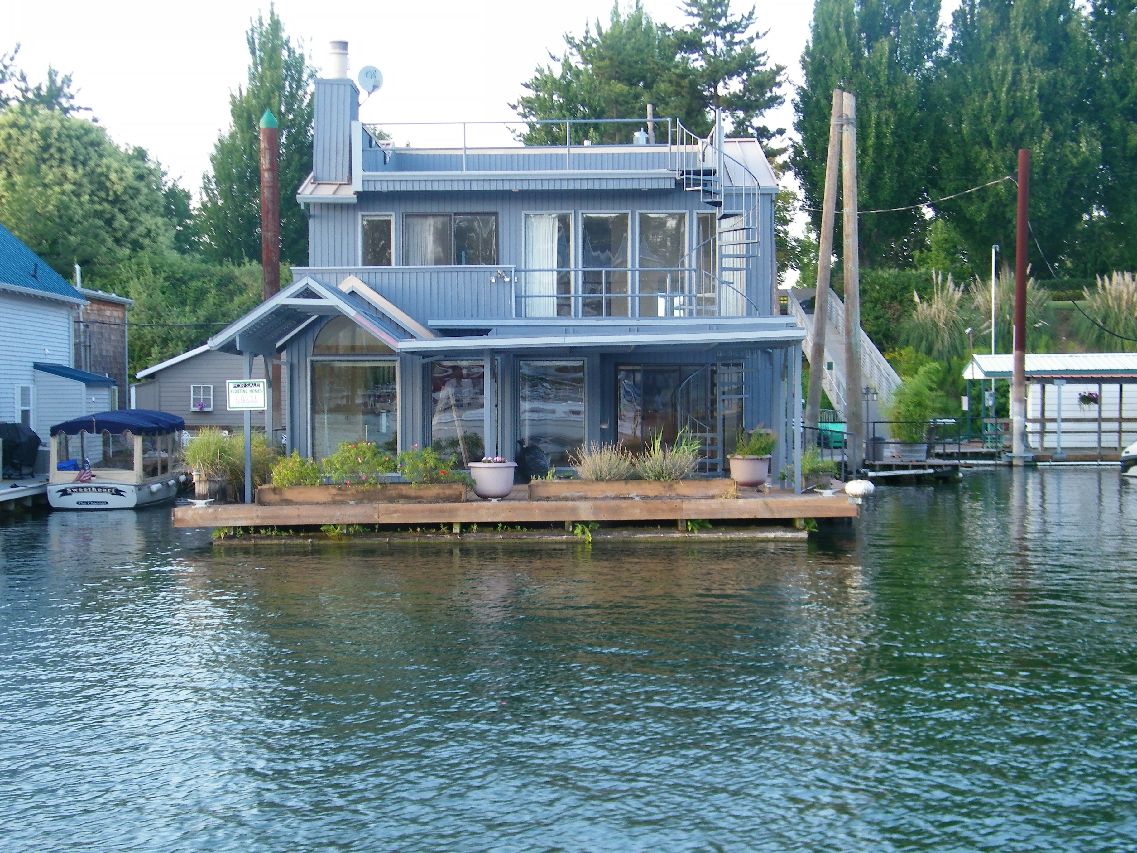 Portland floating homes archives karla divine floating Portland floating homes